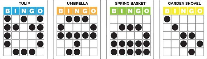 spring-bingo-patterns