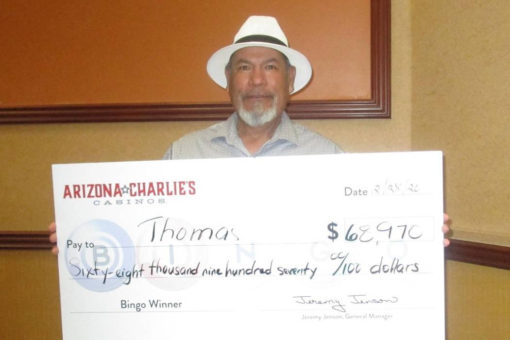 Las Vegas bingo winner