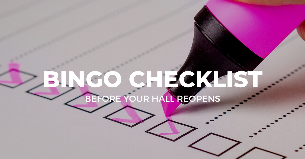 Bingo Hall Checklist