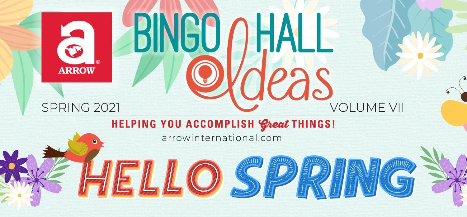 Arrow Bingo Hall Ideas Spring 2021