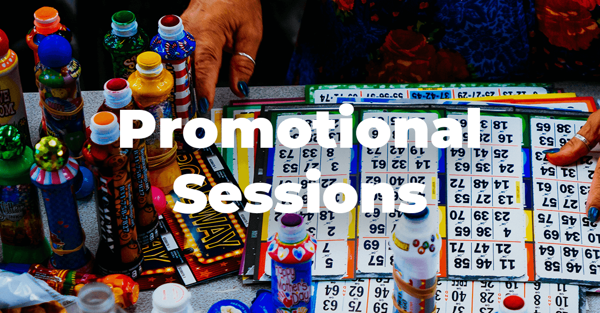 Looking to try a Promotional Session? Try these.